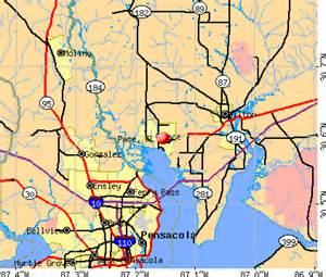 pace florida fl 32571 profile population maps real