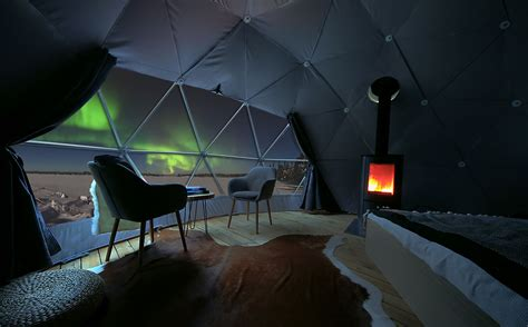 northern lights dome hotel maximise your chances of seeing the borealis in