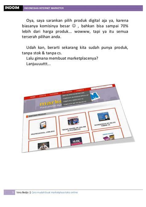 membuat toko online amazon cara mudah membuat marketplace toko online sendiri