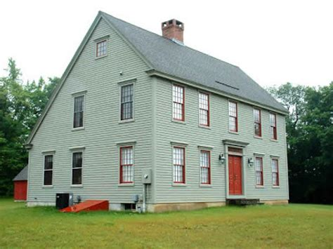 Classic Colonial Home Plans by Saltbox House Interiors Classic Colonial Saltbox House