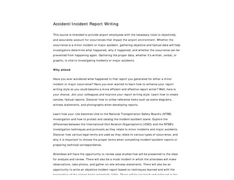 Incident Report Writing Pdf by Best Photos Of Report Writing Sle Report Writing Sle Pdf Incident Report Writing Sle
