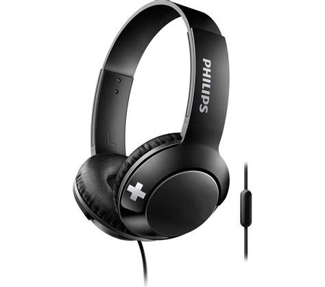 Philips She8500 Stereo Bass Earphone philips bass shl3075bk headphones black deals pc world