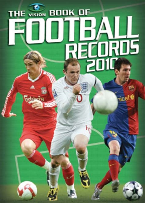 vision book of football football books to suit all ages and allegiances football sports arena