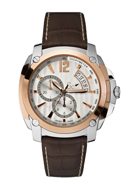 Guess Collection Chronograph guess collection chronograph brown leather x78005g1s