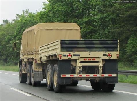 tactical truck m1095 mtv 5 ton trailer with dropsides oloom