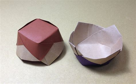 How To Make Paper Dish - how to make a paper ceramics origami flower vessel