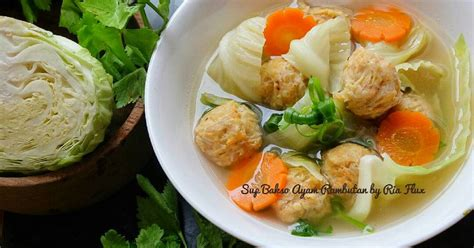 resep bakso buah enak  sederhana cookpad