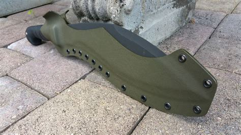 custom kukri sheath kabar kukri custom kydex knife sheath od green ebay