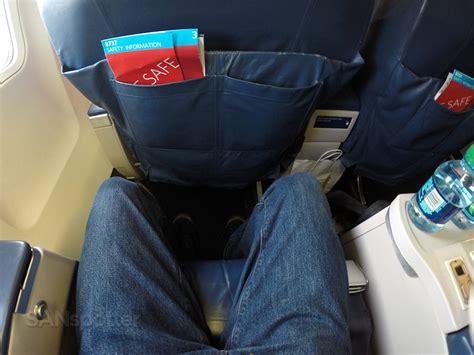 delta leg room delta airlines 737 800 class salt lake city to san diego sanspotter