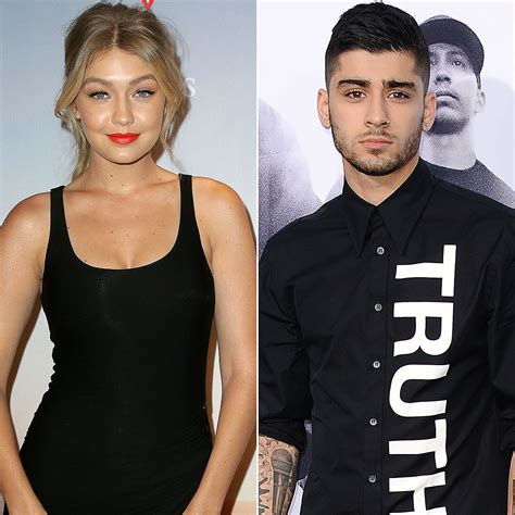 gigi hadid shares shirtless photo of zayn malik popsugar