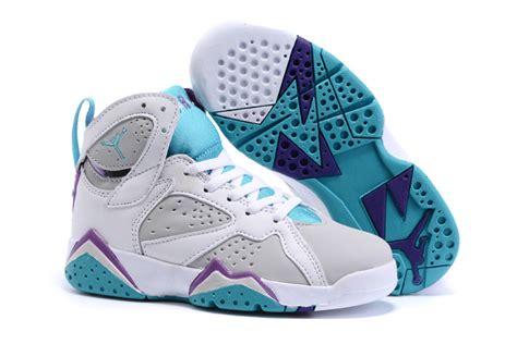 air retro 6 baby blue new air 7 retro white grey baby blue shoes