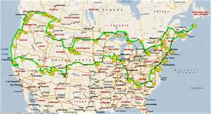 map my route canada canada 2006 road trip across usa canada page 3