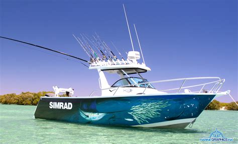 boat wraps sailfish - Sailfish Boat Wraps