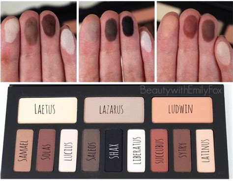 kat von d shade light contour palette kat von d shade light eye contour palette swatches