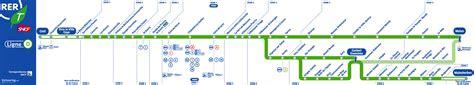 d d sncf and ratp rer train maps for paris and ile de france