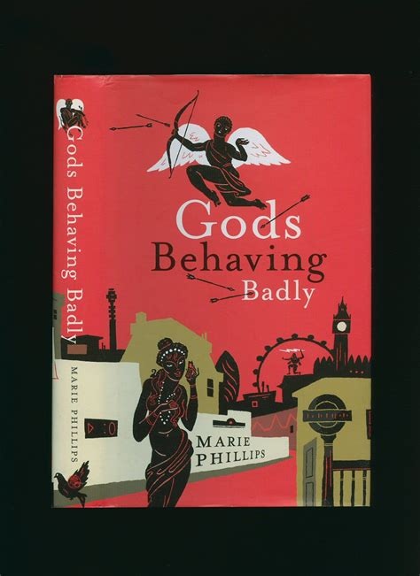 behaving badly books gods behaving badly by cover illustration by adam