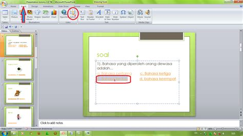 cara membuat presentasi power point animasi cara membuat soal soal didalam microsoft power point