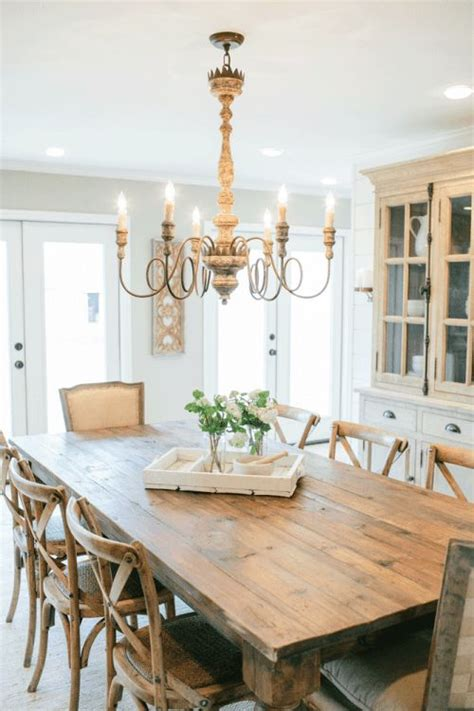 The Italian Chandelier Position Picture Fixer Upper Season 2 For The Home Pinterest Table