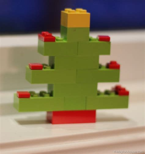 My Christmas Tree by Christmas Ornaments Made With Legos The Taylor House