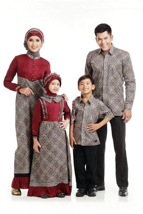 Baju Muslim Lebaran 25 model baju lebaran keluarga 2018 kompak modis