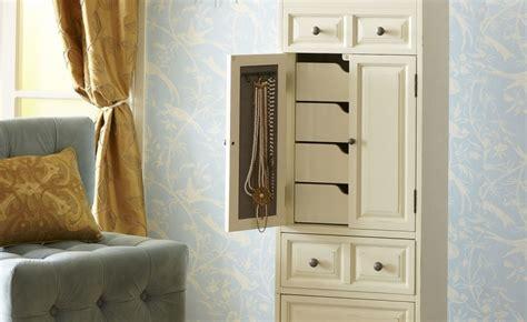 off white jewelry armoire 100 outstanding jewelry armoires zen merchandiser