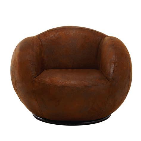 fauteuil chambre enfant fauteuil enfant en microfibre marron maisons du