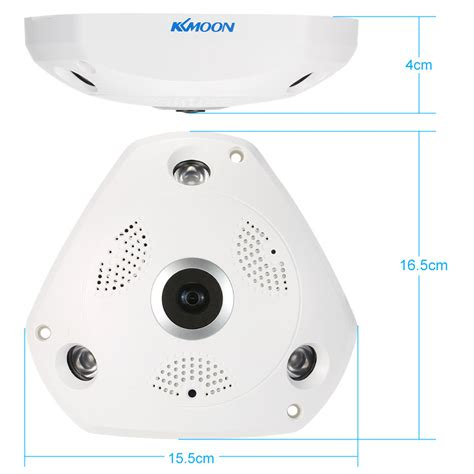 Wireless Vr Ip Fisheye Lens And Free App For Mobile Phone kkmoon 960p hd 360 degree wireless wifi vr ip view 1 44mm lens fish eye panoramic