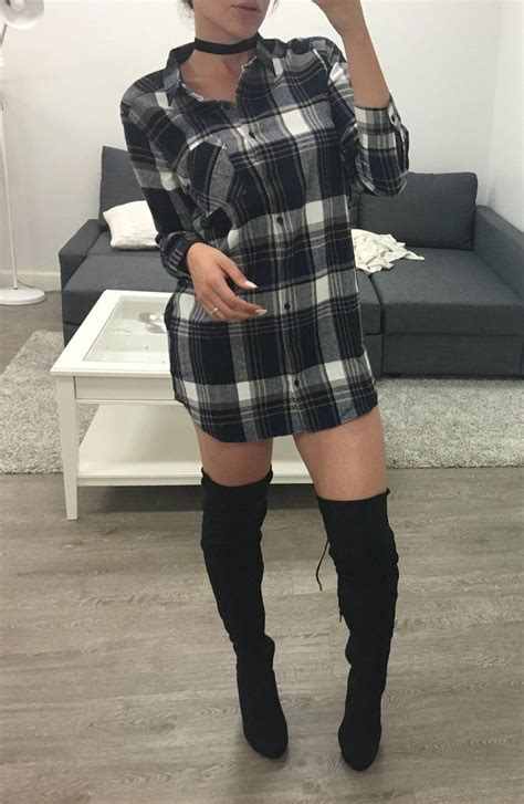 best 25 flannel dress ideas on flannel thigh