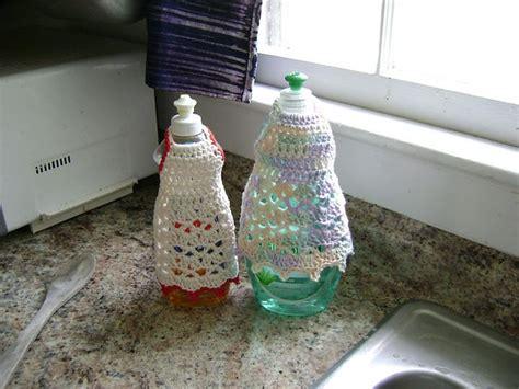 apron pattern for soap bottles 17 best images about crochet kitchen dish bottle aprons