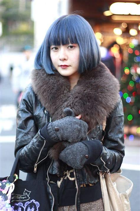 dark blue hair ideas  pinterest