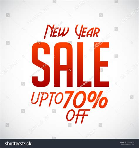 new year sale happy new year 2016 sale banner stock vector 339354122