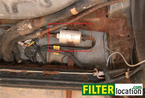 how to change the fuel filter on pontiac sunfire 1995 2005