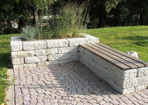 Hochbeet Aus Stein Mit Sitzbank by Das Eigene Paradies Garten