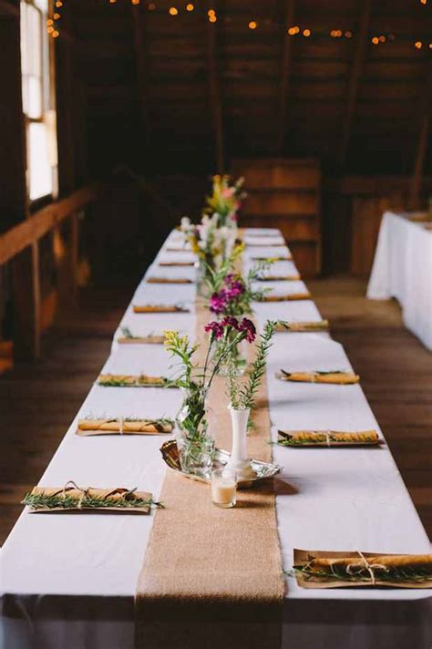 wedding reception table runners 26 ridiculously pretty seriously creative wedding table
