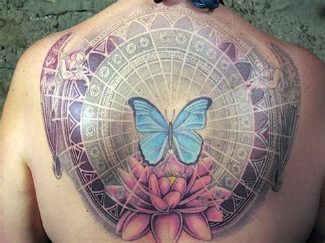 energy tattoo designs energy butterfly lotus wing memorial