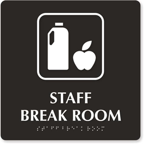 6 Quot X 6 Quot H X W Room Signs For