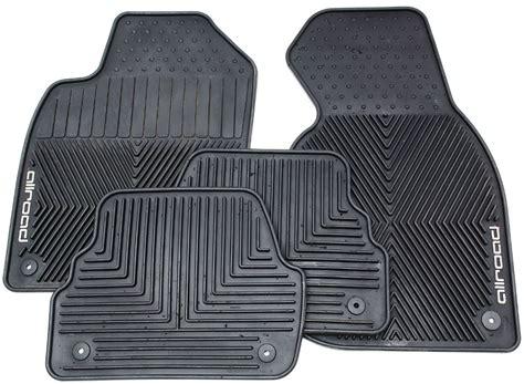 rubber floor mat set 01 05 audi allroad black all