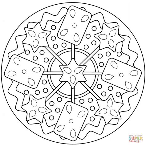 abstract coloring pages simple simple abstract mandala coloring page free printable