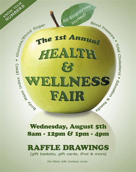 health and wellness flyer template health wellness fair poster flyer graphicdivadesign flickr