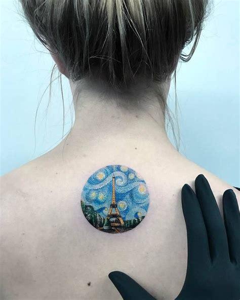 nighttime tattoos designs best 25 starry ideas on gogh