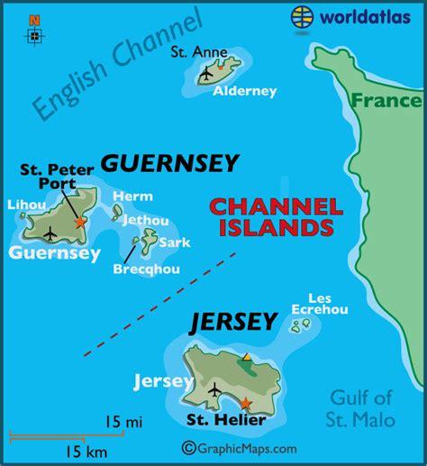 0004490363 carte touristique jersey en iles anglo normandes carte touristique voyages cartes