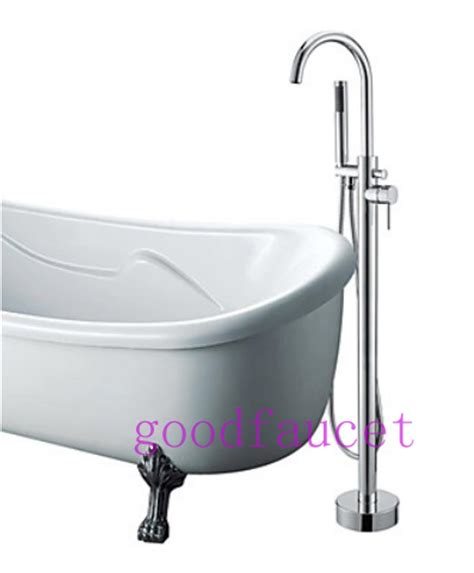 Modern Clawfoot Tub Faucet by Modern Brass Clawfoot Floor Mounted Tub
