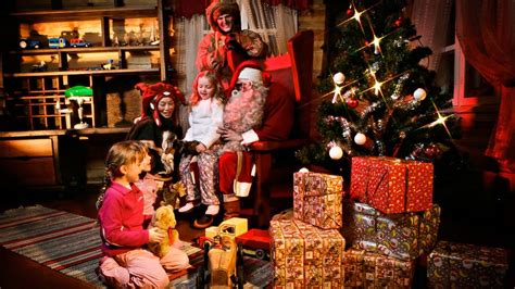 Santa Claus In House by Santa S Home Kakslauttanen