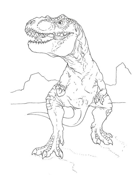 cartoon t rex coloring page t rex coloring pages dinosaurs pictures and facts