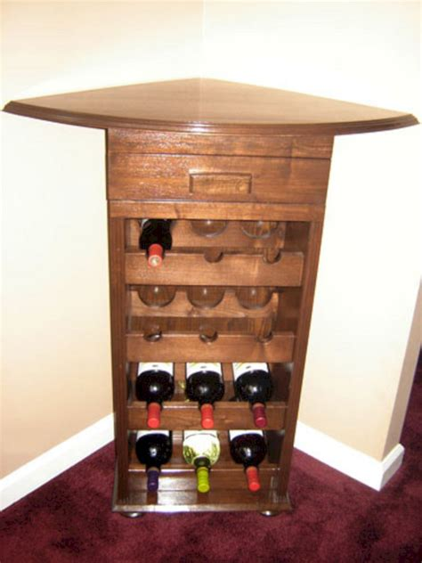 corner wine rack cabinet 24 best corner coffee wine bar design ideas for your home