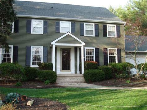 exterior house paint photos search color schemes black shutters green