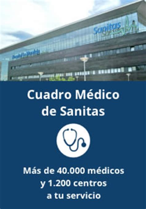 cuadro medico sanitas coruña sanitas centro oficial de contrataci 243 n