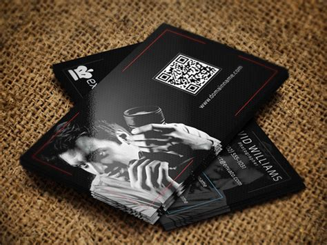 20 photography business card templates
