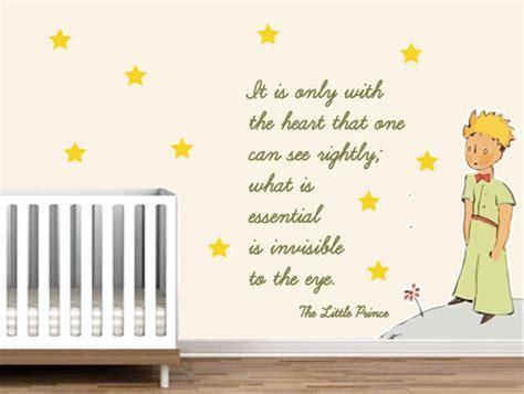 the prince nursery decor prince nursery wall sticker decor exupery