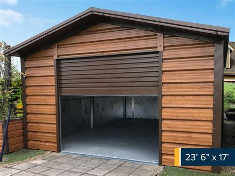 Steel Frame Garage by Steel Garages Garages Ireland Metal Garages Garages
